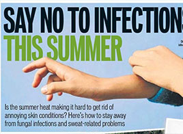 Say no to infection in this summer